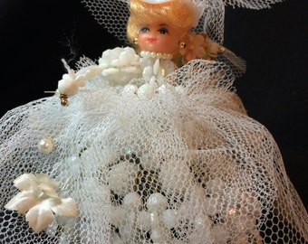 Vintage Safety Pin BRIDE DOLL