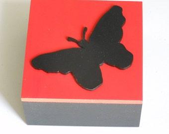 Butterfly Silhouette Decorative/ Trinket/Gift/Keepsake Box
