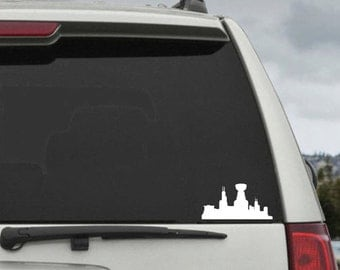 Chicago Decal Etsy - Window stickers for cars chicago