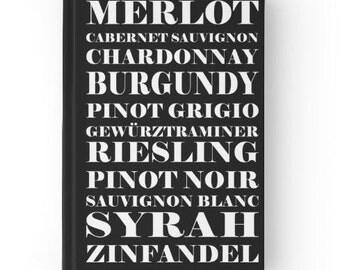 Wine Diary, Wine Journal, Fine Wine Diary, Wine Enthusiast, Wine Tasting, Tasting Journal, Wine Lover, Gift, Wine Connoisseur, Wine Notes
