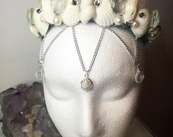 Moon Stone Mermaid Crown