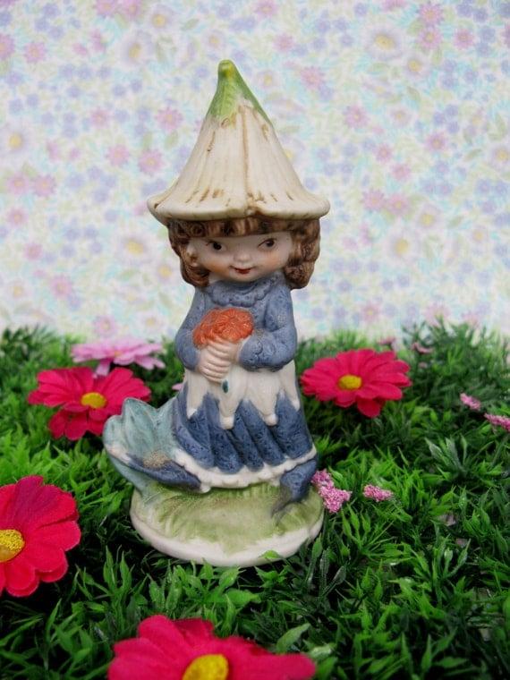 victoria plum ornament flower fairy by missiemoovintageroom. Black Bedroom Furniture Sets. Home Design Ideas