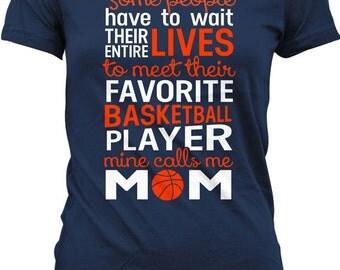 Basketball Mom Shirt Basketball Gifts For Mom Sports Mom Shirts Basketball T Shirt Mothers Day Sports Fan Gift Joke Ladies Tee MD-454