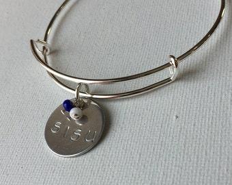 SISU Bracelet, Finnish, Finns, Yooper Jewelry (LL215)