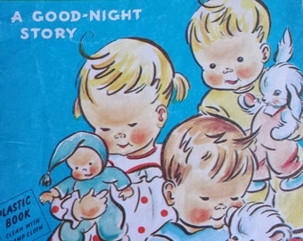 "Vintage Children's Book ""The Happy Family"" 1958"