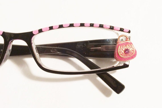 shoe s reading glasses 1 25 painted shopper
