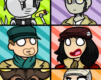 Fallout 4 Companions Poster