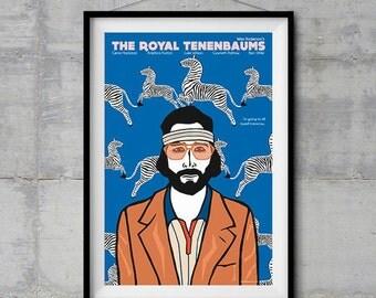 The Royal Tenenbaums - Richie Poster - Original Illustration