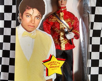 Awesome Michael Jackson Doll! 1984 American Music Awards Outfit - NIB
