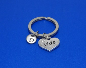 Wife Keychain, Wife Gift, Wife Forever, Spouse, Partner, Wife Love, Best Friend, Gift for wife, Gift for husband, Personalised, Customised