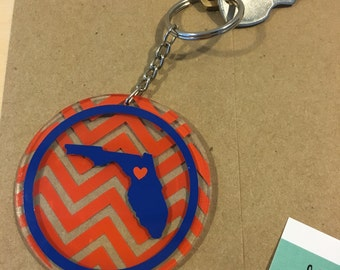 College Love Keychains - Design Your Own