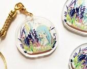 Fire Emblem Fates, Azura Crystal Clear Acrylic Charm, Game Anime Cellphone Strap