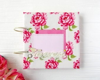 photo album // mini album // photo album 6x6 // gift for her