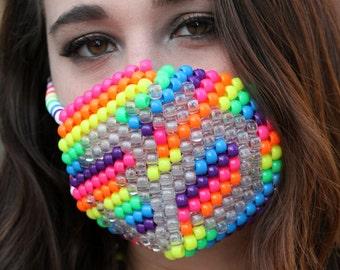 Om LED Kandi Mask