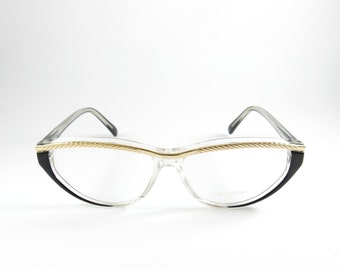 Vintage Glasses, Loris Azzaro, Cat Eye Glasses, Womens Gift, Vintage Cat Eye Sunglasses, Deadstock Eyeglasses, Girlfriend Gifts, Cat Eye
