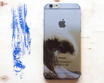 iPhone 6 Case Wave iPhone 6s Case Ocean iPhone 6 Plus Case Surf iPhone 6s Plus Case Sea Nature iPhone 5 Case  iPhone 5S Case Pastel Cover