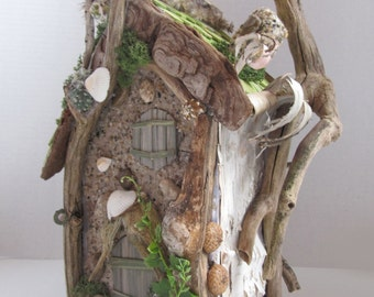 SALE!!! -Tall Fairy House -OOAK