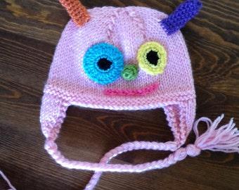 Infant Pink Monster