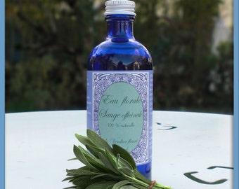 Sage floral water