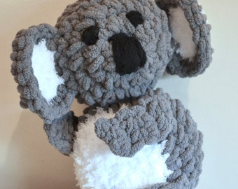 Crochet Koala Bear, Koala Stuffed Animal, Plush Koala, Amigurumi Koala