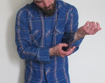 70's Rare Vintage Wrangler shirt