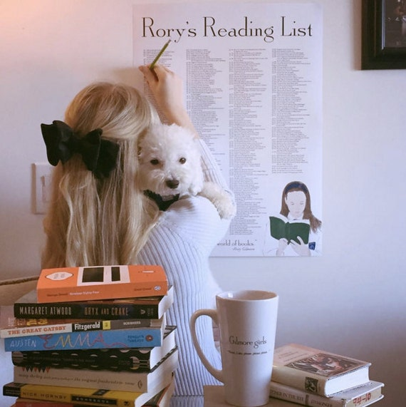 Rory's Reading List | Gilmore Girls Gift Guide