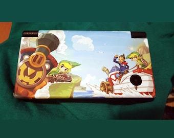 Nintendo DSi Zelda Spirit Tracks Custom Phantom Hourglass custom vinyl