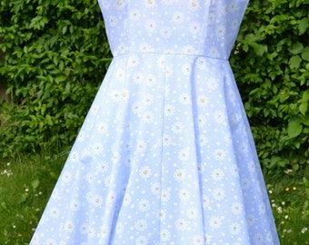 50's Style, Rockabilly Crossover Dress, Made to Order