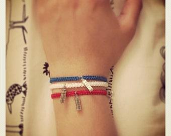 Braided Charm Bracelets