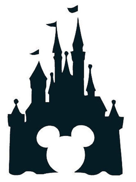 Items similar to Disney Castle Mickey Ears Vinyl Decal on Etsy
