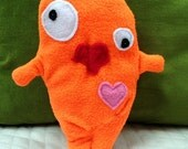 Goldie ~ The Goldfish Bummlie ~ Stuffingless Dog Toy  - Ready To Ship Today
