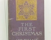 The First Christmas from Ben Hur by Lew Wallace, 1904 Purple Gift Edition with Mounted Illustration Plates