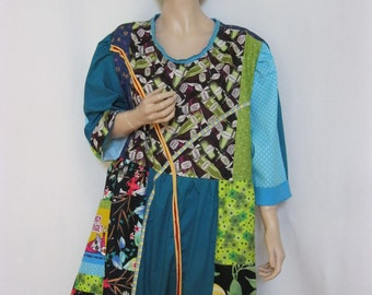 4X Multi Color Tunic