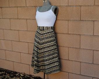 Vintage 1960's High Waisted Skirt