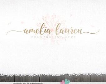 premade logo Photography Logo dandelion logo photography logos and watermarks dandelion logos logos for photographers premade logo designs