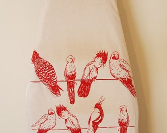 Parrot Ironing Board Cover