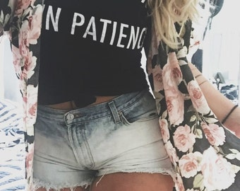 Thick Thighs Thin Patience  // Customizable Tops // Unisex Tees