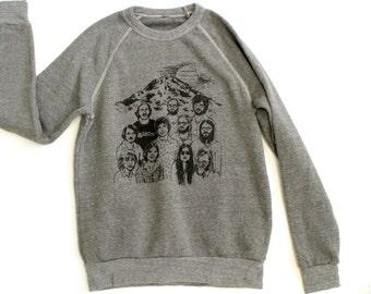 SEATTLE microsoft BILL GATES & crew Founders image early Tech crunch sweatshirt