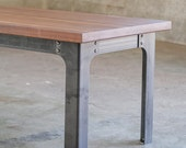 The Kindred Coffee Table: Industrial Legs