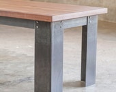 The Kindred Coffee Table: Sheraton Legs