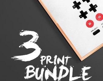 Bundle - Pick 3 Prints