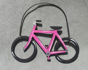 Bicycle Ornament/Party Favor/Gift Tag -- OV21
