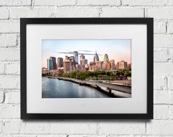 Philadelphia Skyline Photography - Print of Philadelphia - Philly Art - Center City Philadelphia
