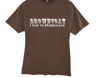 Browncoat I Aim to Misbehave - tank top