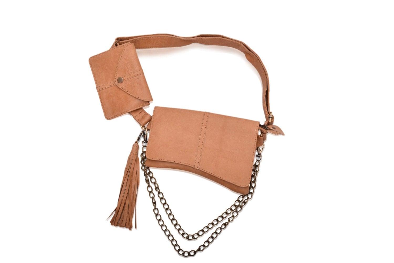 voyager leather belt bag leather hip belt pouch hip belt