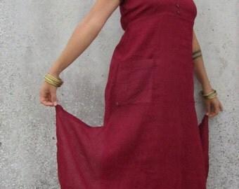 Natural clothing ~ Full length ~ Dress