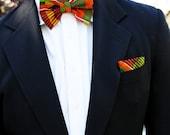 Kente Adjustable Bow Tie (SET)