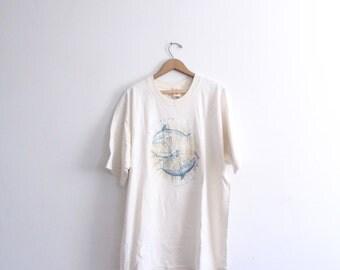 Dolphin Ray 90s T Shirt