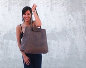 Brown leather bag/Leather tote/Tote bag/Women leather bag/Oversize bag/Handmade leather bag/leather handbag