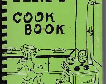1979 ELLIE'S COOKBOOK Favorite Community Recipes Broome-Chenango County NY/Masonic/ Lime Green/Vintage Spiral Bound Book Ellen/Eleanor Gift
